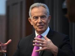 Former prime minister Tony Blair has called on Boris Johnson to use the G7 to enforce a global coronavirus vaccine passport scheme (Stefan Rousseau/PA)