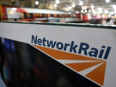 Network Rail said the video had been passed to British Transport Police who were looking into the footage (Andrew Milligan/PA)