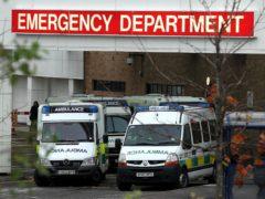 The 55-year-old was taken to Edinburgh Royal Infirmary (David Cheskin/PA)