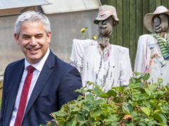 Chief Secretary to the Treasury Steve Barclay accused the Scottish Government of ignoring existing coronavirus support amid calls for reserves to be released (Jane Barlow/PA)