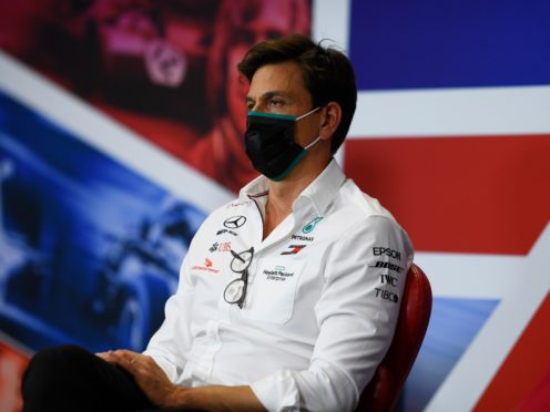 Mercedes team principal Toto Wolff revealed he contracted coronavirus earlier this month