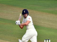 Dom Sibley claimed a hard-working 56 not out for England (Glyn Kirk/PA)