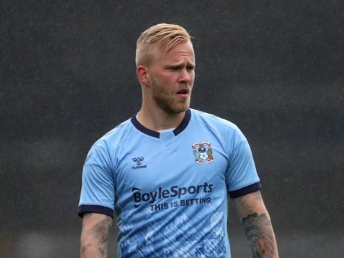 On-loan Coventry winger Marcel Hilssner could make his home debut for Oldham (Bradley Collyer/PA)