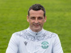 Jack Ross has big ambitions for Hibs (PA)
