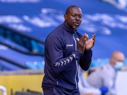 Kilmarnock manager Alex Dyer is on the hunt for a striker (Jeff Holmes/PA)