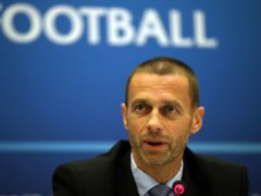 Aleksander Ceferin has expressed optimism that fans can attend the rearranged Euro 2020 finals (Nick Potts/PA)