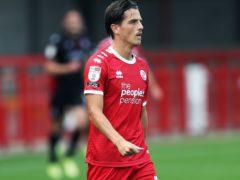 Crawley forward Tom Nichols is preparing to face Leeds (Kieran Cleeves/PA)