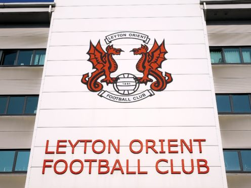 Leyton Orient left it late to see off Morecambe (Nigel French/PA)