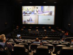 Cinemas have been hosting remote juries since September (Andrew Milligan/PA)