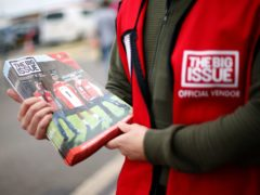 Big Issue is appealing for help amid the latest lockdown (Paul Harding/PA)