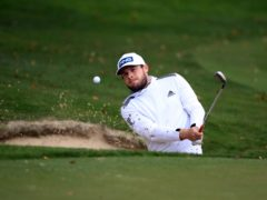 Tyrrell Hatton opened up a five-shot lead in the Abu Dhabi HSBC Championship (Adam Davy/PA)
