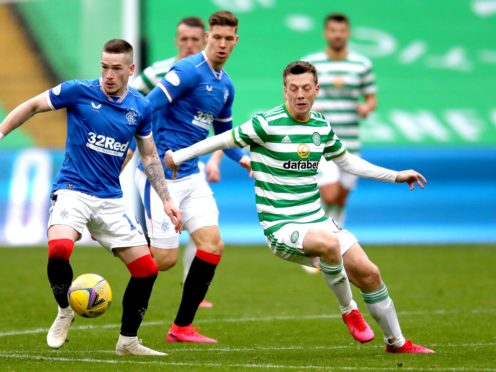 Rangers and Celtic will meet at Ibrox on Saturday (Jane Barlow/PA)