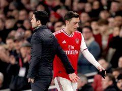 Mesut Ozil is leaving Arsenal (John Walton/PA)
