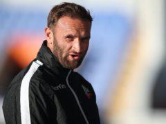 Bolton Wanderers manager Ian Evatt (Nick Potts/PA)