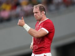 Wales captain Alun Wyn Jones is recovering from a knee injury (David Davies/PA).