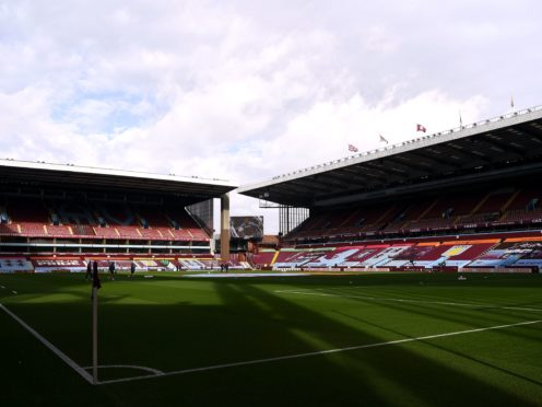 Villa are due to host Liverpool in the FA Cup on Friday. (Gareth Copley/PA)