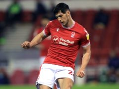 Scott McKenna will hope to be back in the Nottingham Forest starting line up on Saturday (Mike Egerton/PA)