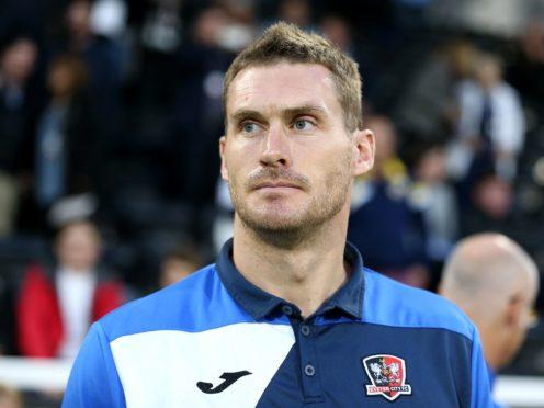 Exeter boss Matt Taylor has injury concerns (Nigel French/PA)