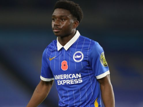 Brighton defender Tariq Lamptey was signed from Chelsea last January (Gareth Fuller/PA)