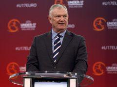 Greg Clarke stood down as FIFA vice-president in November (Tim Goode/PA)