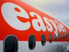 EasyJet expects to fly no more than 10% of its programme between January and March amid strict travel restrictions (Gareth Fuller/PA)