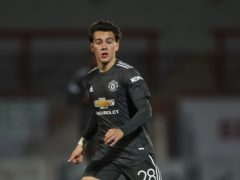 Manchester United's Facundo Pellistri has tested positive for Covid-19 (Martin Rickett/PA)