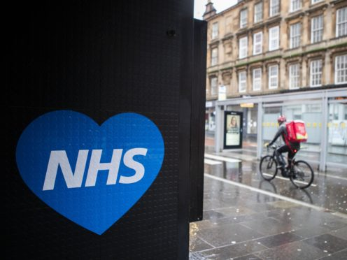 Unison members are calling for a pay rise for all NHS workers (Jane Barlow/PA)