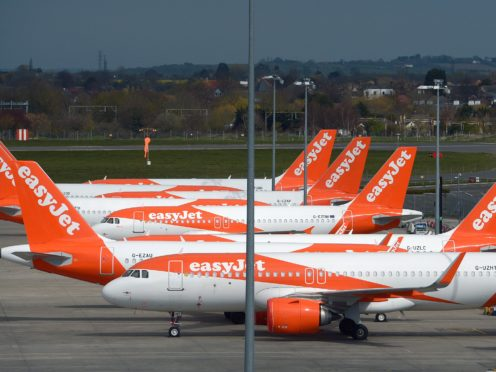 EasyJet is offering refunds until early spring due to lockdown measures and travel restrictions (Nick Ansell/PA)