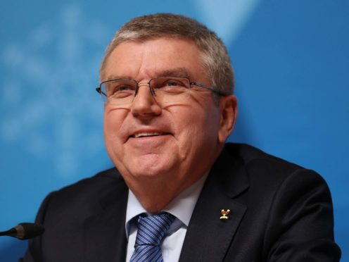 Thomas Bach is confident the Games will go ahead (Mike Egerton/PA)