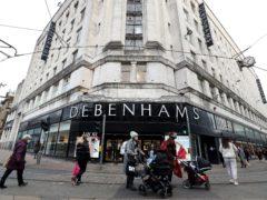 Boohoo has bought the Debenhams brand for £55m (Martin Rickett/PA)