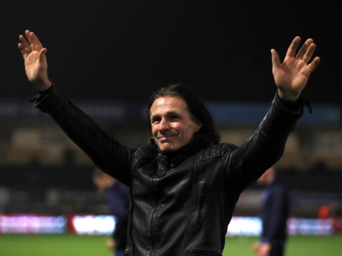 """Gareth Ainsworth is """"100 per cent"""" confident he can put out a Wycombe side against Tottenham (Adam Davy/PA)"""