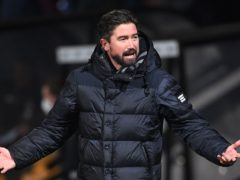 Oldham manager Harry Kewell (Joe Giddens/PA)