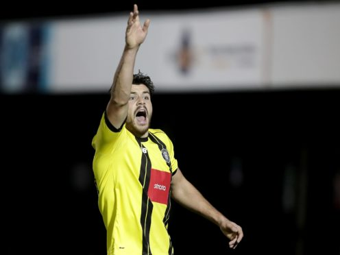 Connor Hall has signed a new long-term contract with Harrogate (Richard Sellers/PA)