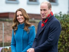 The Duke and Duchess of Cambridge held a video call with emergency responders and counsellors (Andy Commins/Daily Mirror/PA)