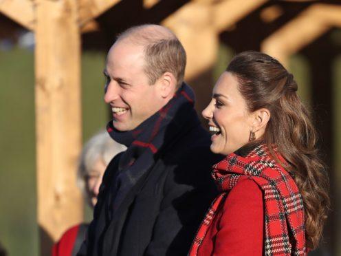 The Duke and Duchess of Cambridge (Chris Jackson/PA)