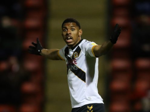 Newport have striker Tristan Abrahams available again at home to Salford (Aaron Chown/PA)