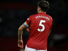 Manchester United captain Harry Maguire believes there is plenty of improvement to come from the Premier League leaders (Phil Noble/PA)