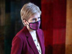 Nicola Sturgeon was speaking at the Scottish Government's coronavirus briefing (Andrew Milligan/PA)