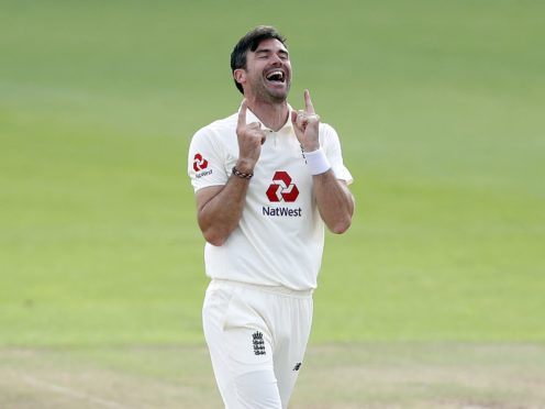 James Anderson returned to spearhead England's attack (Alastair Grant/PA)