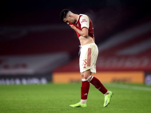 Arsenal attacker Gabriel Martinelli only recently returned following a serious knee injury (Nick Potts/PA)