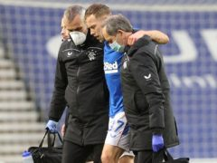 Scott Arfield is currently injured (Jeff Holmes/PA)