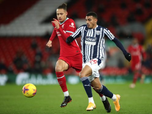 Karlan Grant (right) is back in contention for West Brom (Nick Potts/PA)