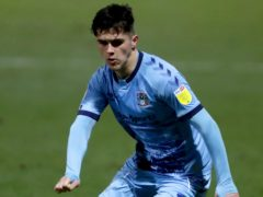 Ryan Giles' spell at Coventry has been cut short (Richard Sellers/PAO
