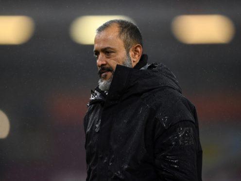 Nuno Espirito Santo said he put his birthday celebrations aside to focus on ending Wolves' winless run (Gareth Copley/PA)
