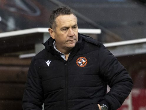 Dundee United are ready to battle, says boss Micky Mellon (Alan Harvey/PA)
