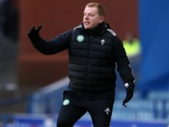 Neil Lennon said Celtic will keep going (Andrew Milligan/PA).