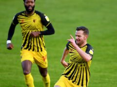 Tom Cleverley broke the deadlock for Watford (Simon Galloway/PA)