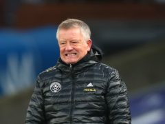 Sheffield United manager Chris Wilder expects to be without a string of players for the visit of Tottenham (Clive Rose/PA Images).