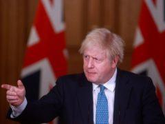 Prime Minister Boris Johnson (Hannah McKay/PA)