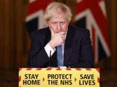 Boris Johnson said almost 1.5 million people have now been vaccinated against coronavirus (Tolga Akmen/PA)